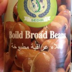Förkokta bondbönor, bagilla