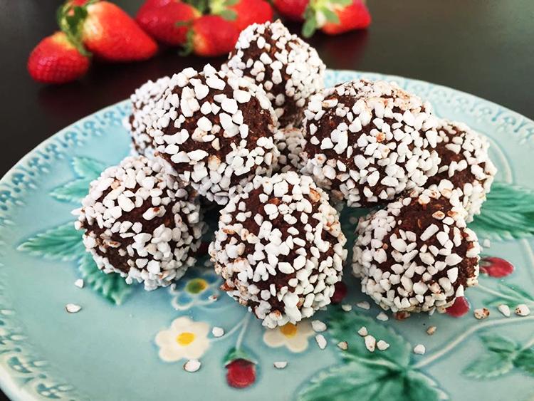 De Absolut Godaste Chokladbollarna Irakisk Mat