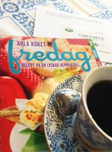 Arlas kokbok Fredag recept på en lyckad hemmakväll