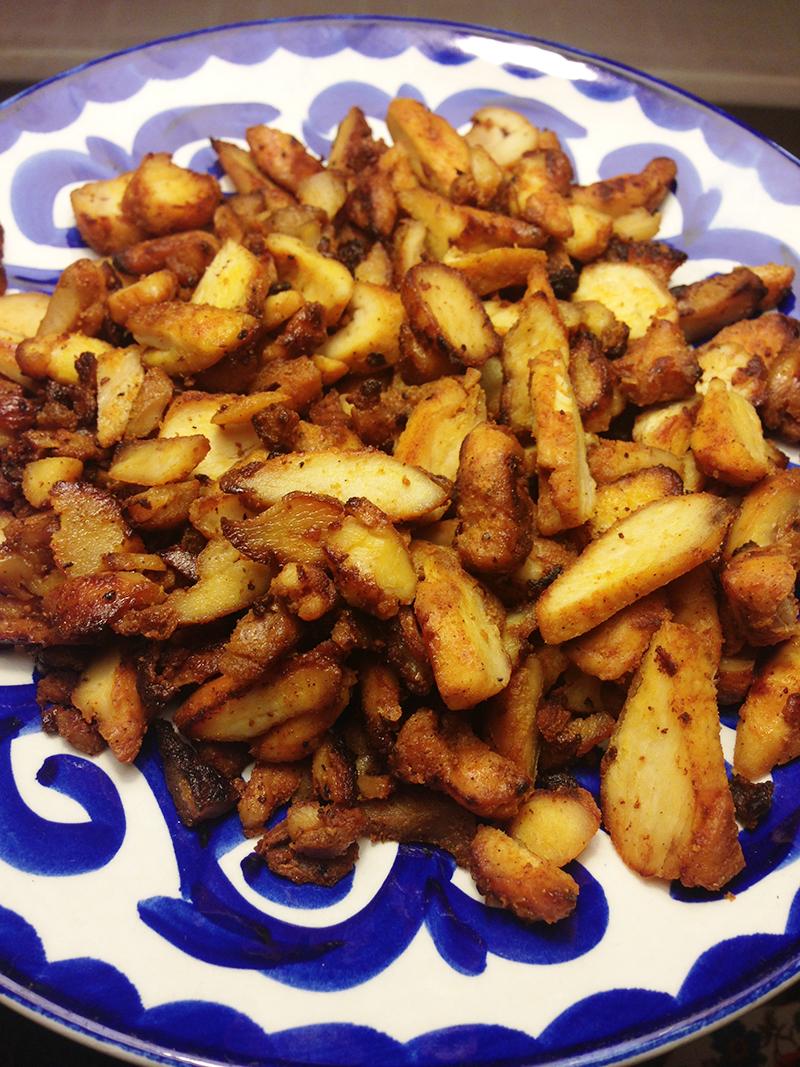 Marinerade kycklingbitar (shawarma)