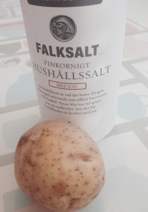Potatisen räddar den salta maten