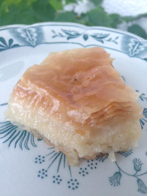 Baklava-recept för dig som är nötallergiker