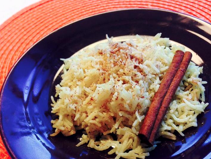 Smaksätt ditt ris med kanel