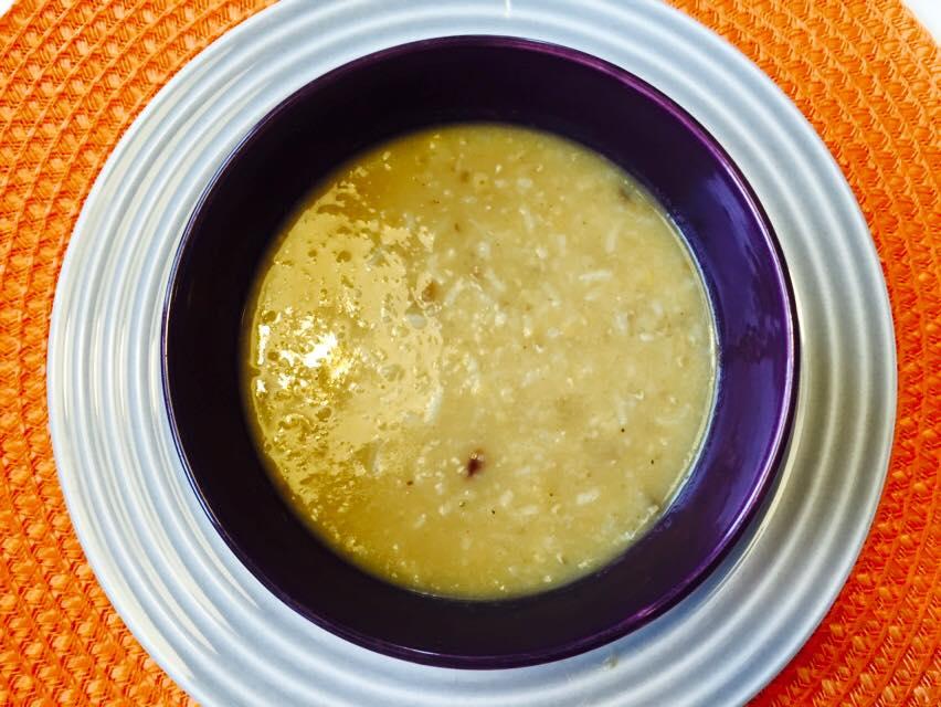 Supergod linssoppa med ris
