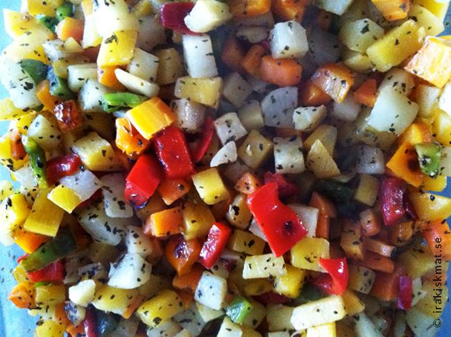 Fräsch grönsakspytt