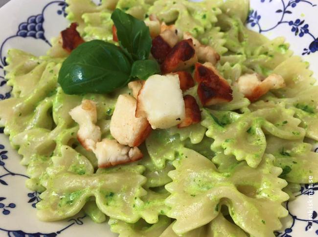 Underpar pesto som passar bra till pasta