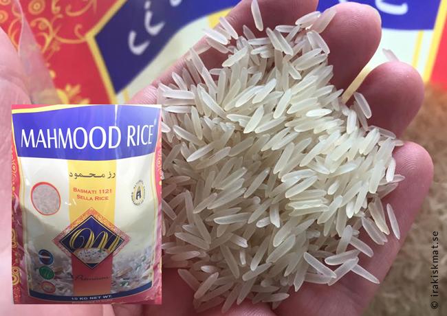 Laga perfekt iranskt ris, chelo, polo