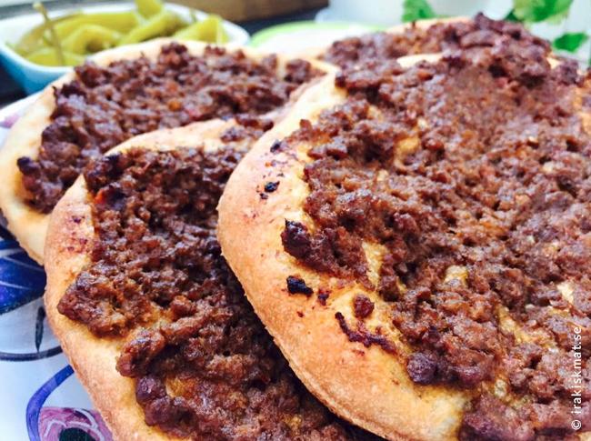 Turkisk pizza lahmacun