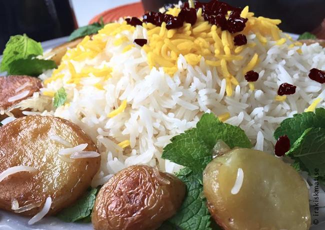 Laga perfekt iranskt/persiskt ris, polo, chelo