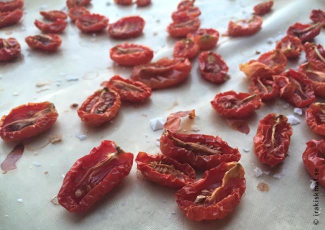 Gör dina egna soltorkade tomater