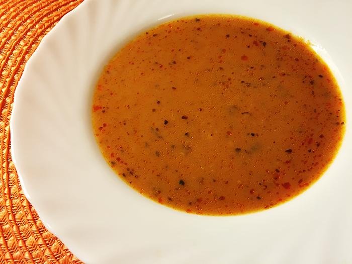 Underbart kryddig tomatsoppa