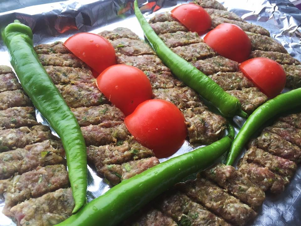 Persisk kebab kobide (kabab koobideh)